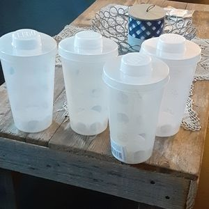 Set of 4 Lego refill cups